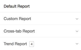 Tipos de relatório