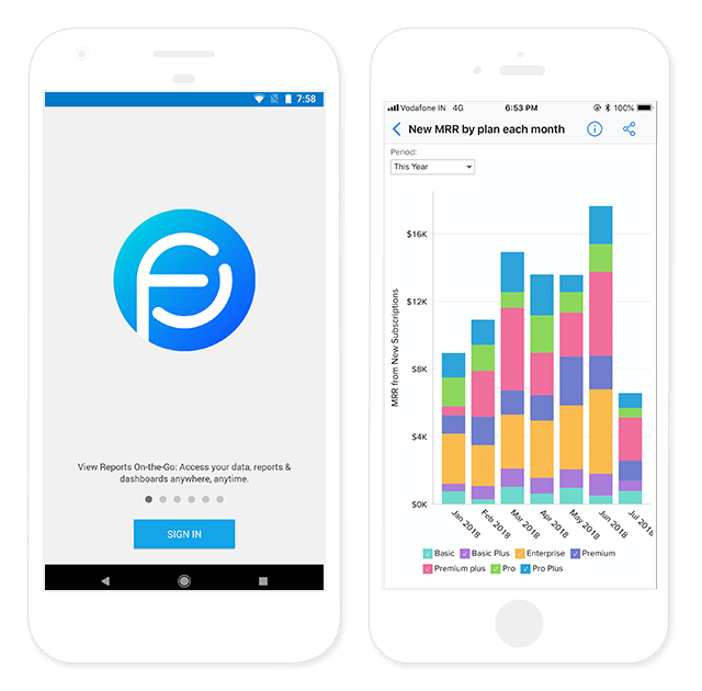 Zoho Reports Mobile Apps