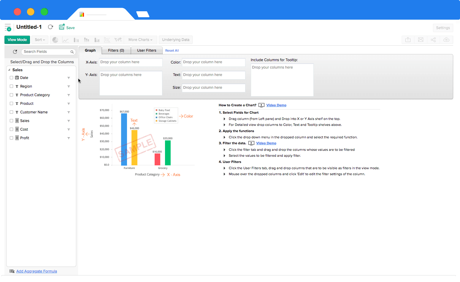 Business Dashboard Creator - Zoho Analytics