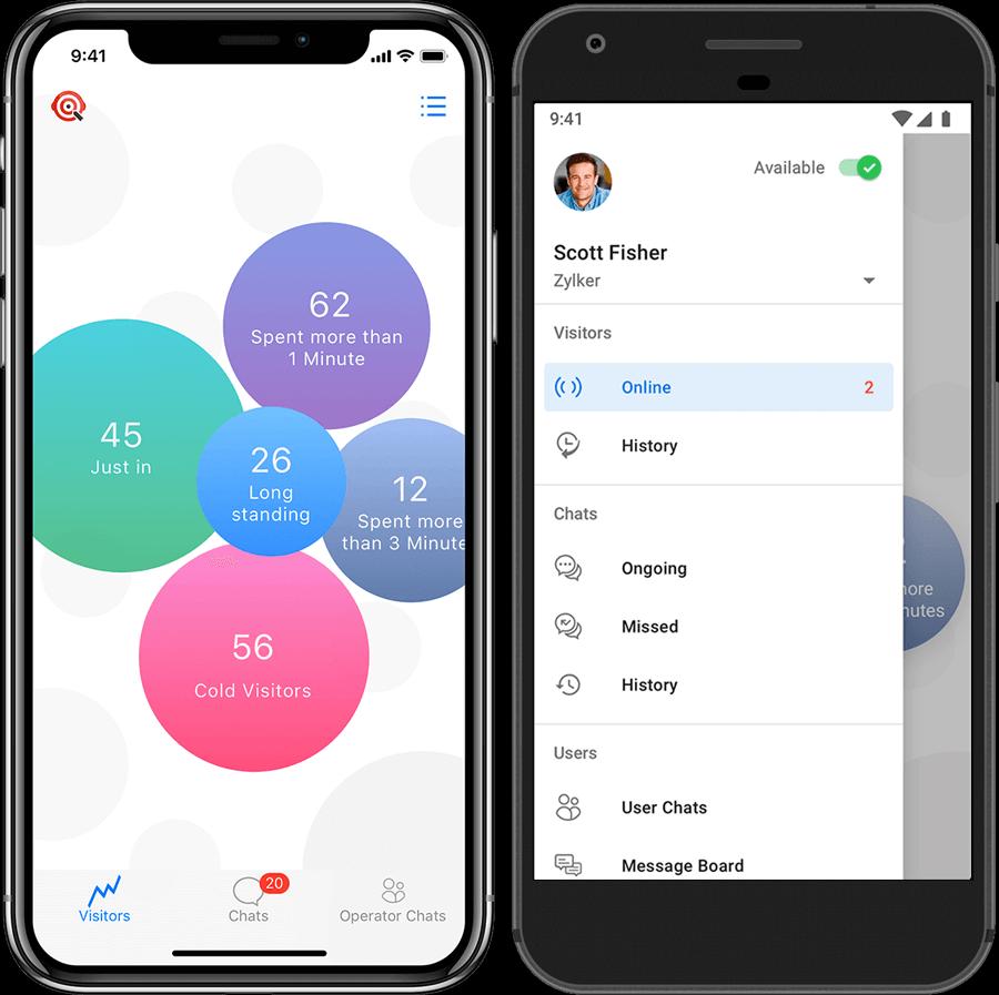 SalesIQ mobile apps
