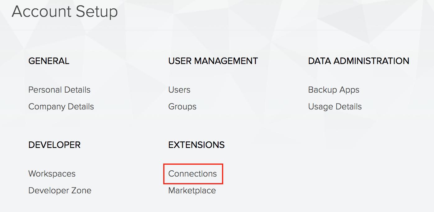Configure Twilio connection | Zoho Creator Help