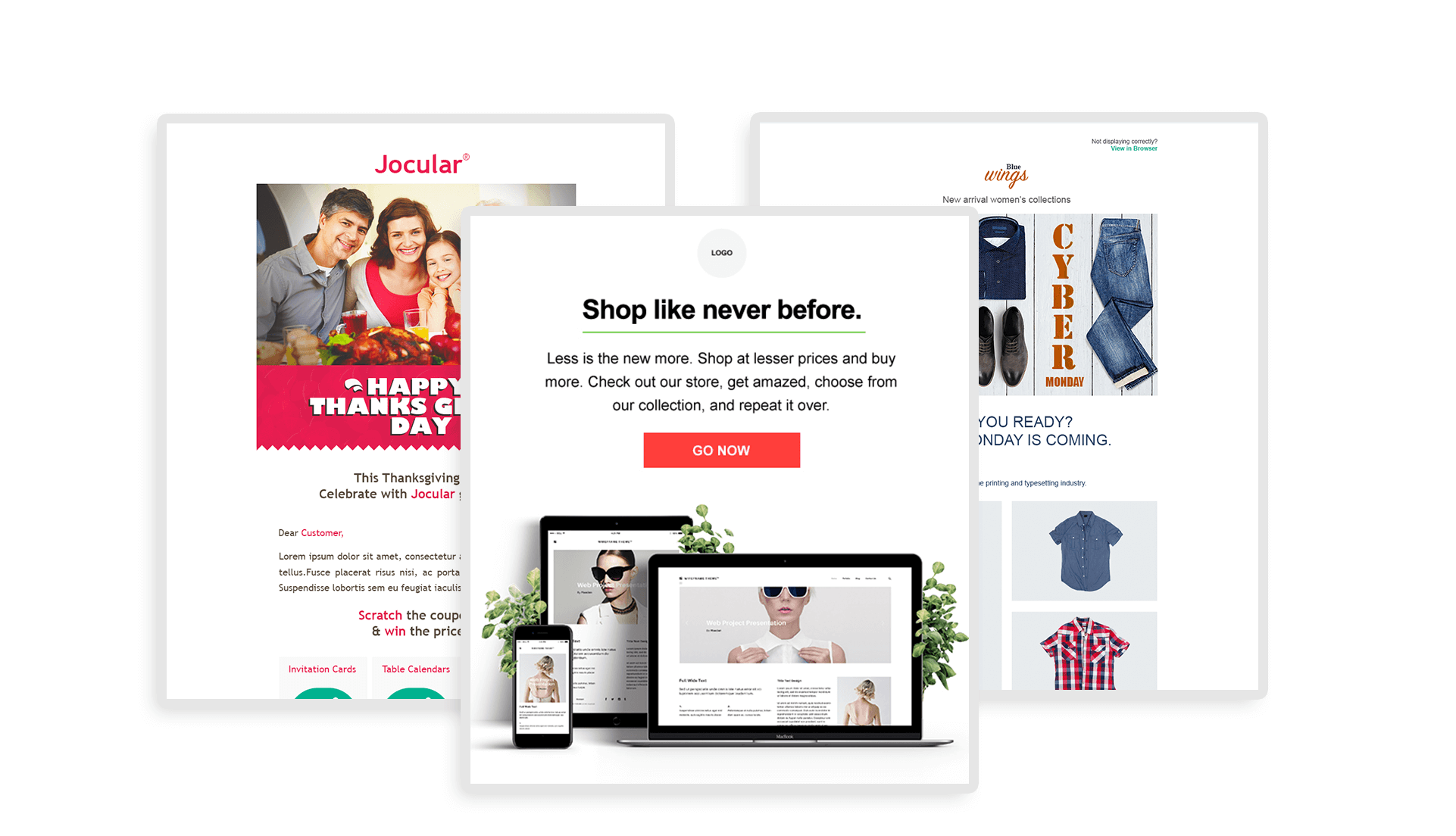 Shopify E-commerce templates