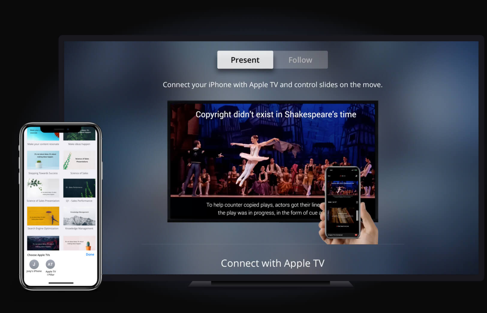 How to make a slideshow on apple iphone