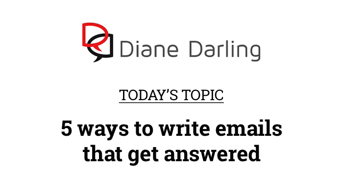 5 ways to write emails that get answered