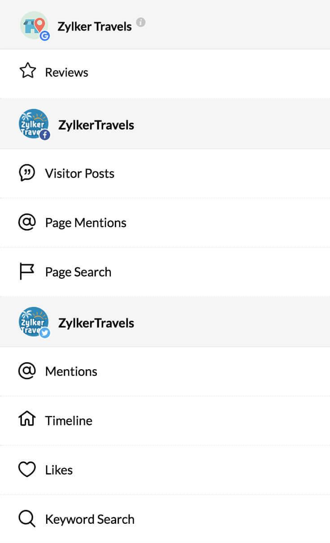 Social Media Management Software - Zoho Social