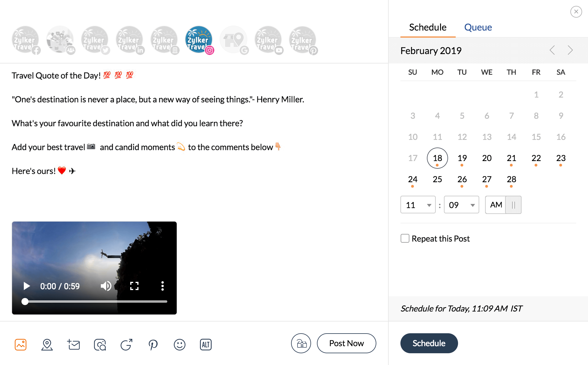 f56ad0da66 Instagram Management Tool for Business - Zoho Social