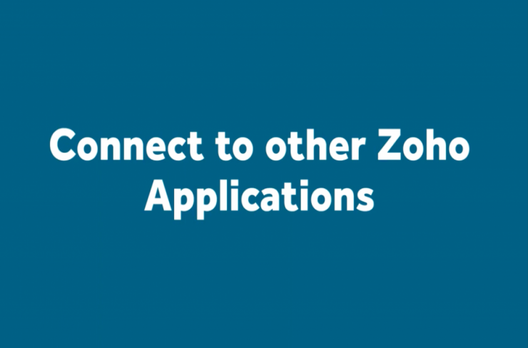 Connect Cliq with other Zoho applications