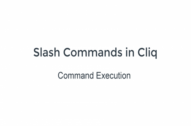 command execution handler