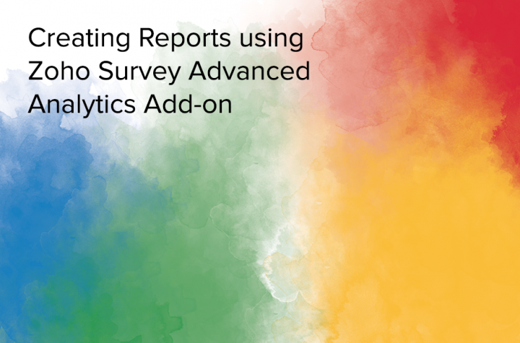 zoho survey analytics