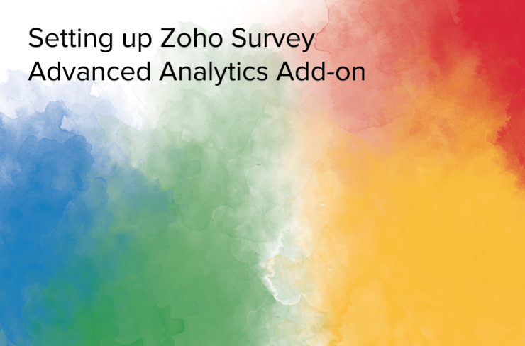 setting up zoho survey