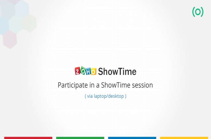 Participate in a ShowTime session