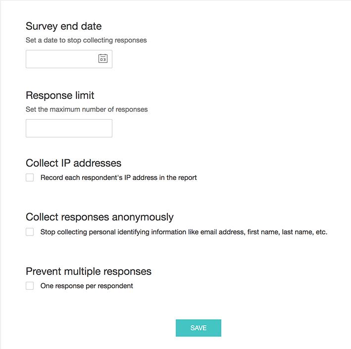 Security - Zoho Survey Help