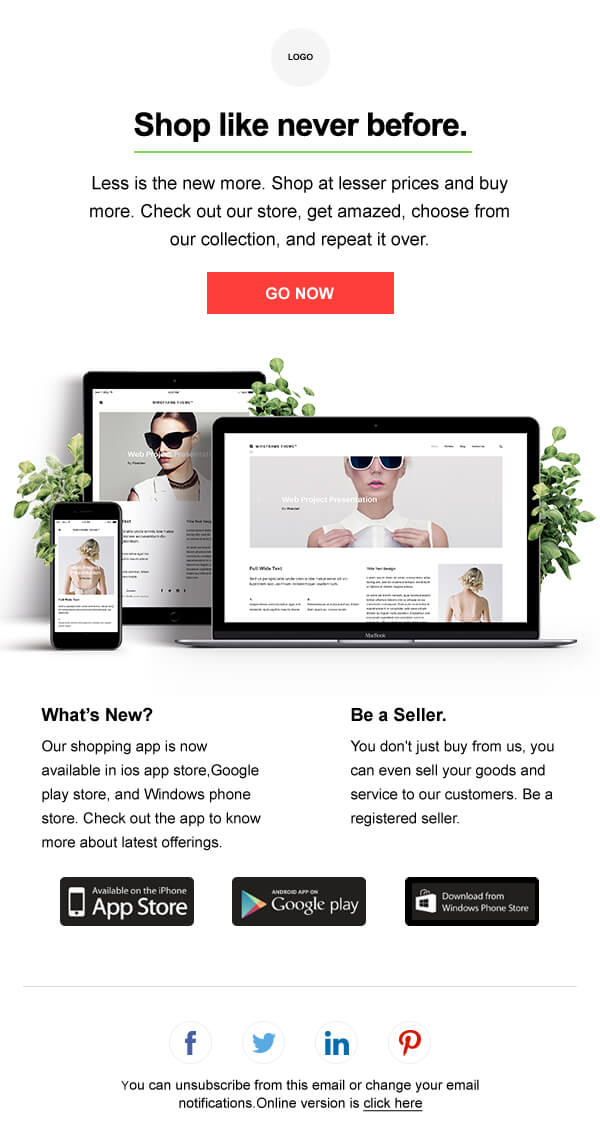 HTML Email Template Gallery | Zoho Campaigns