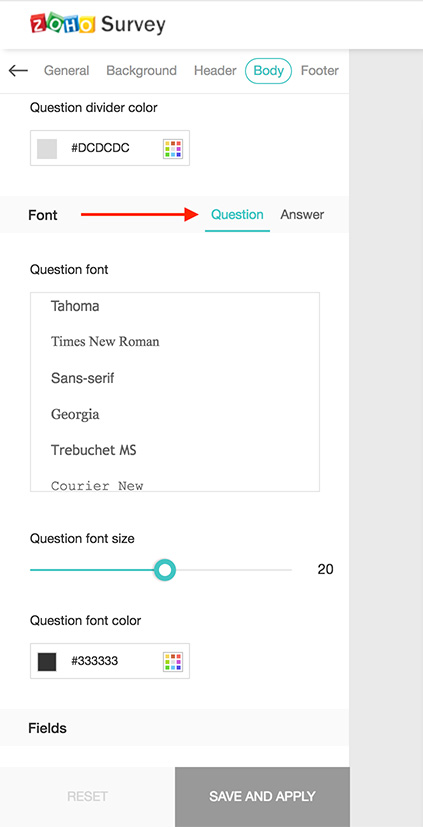 How to Change Fonts and Font Sizes