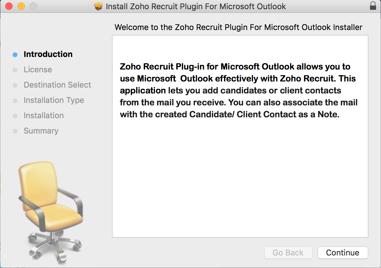 Installing MS Outlook Plugin | Online Help - Zoho Recruit