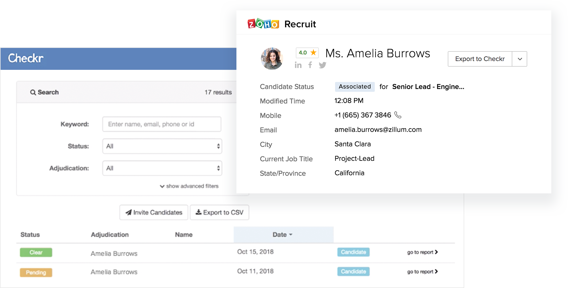 What's New - Zoho Recruit