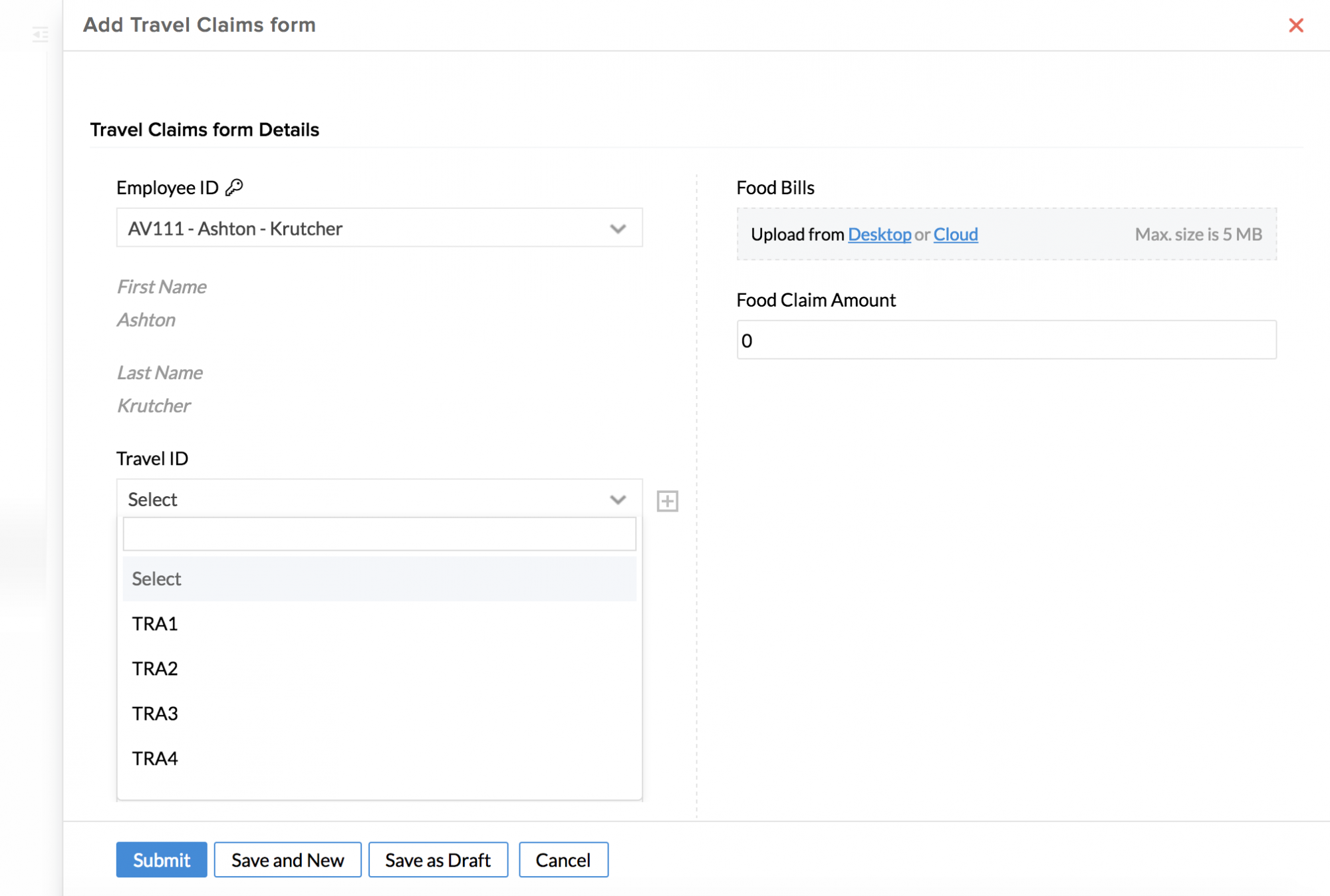 Creating Forms | Zoho People