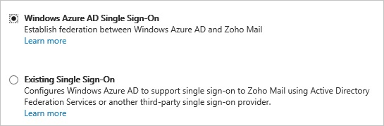 Azure AD Single Sign-On - Zoho Vault