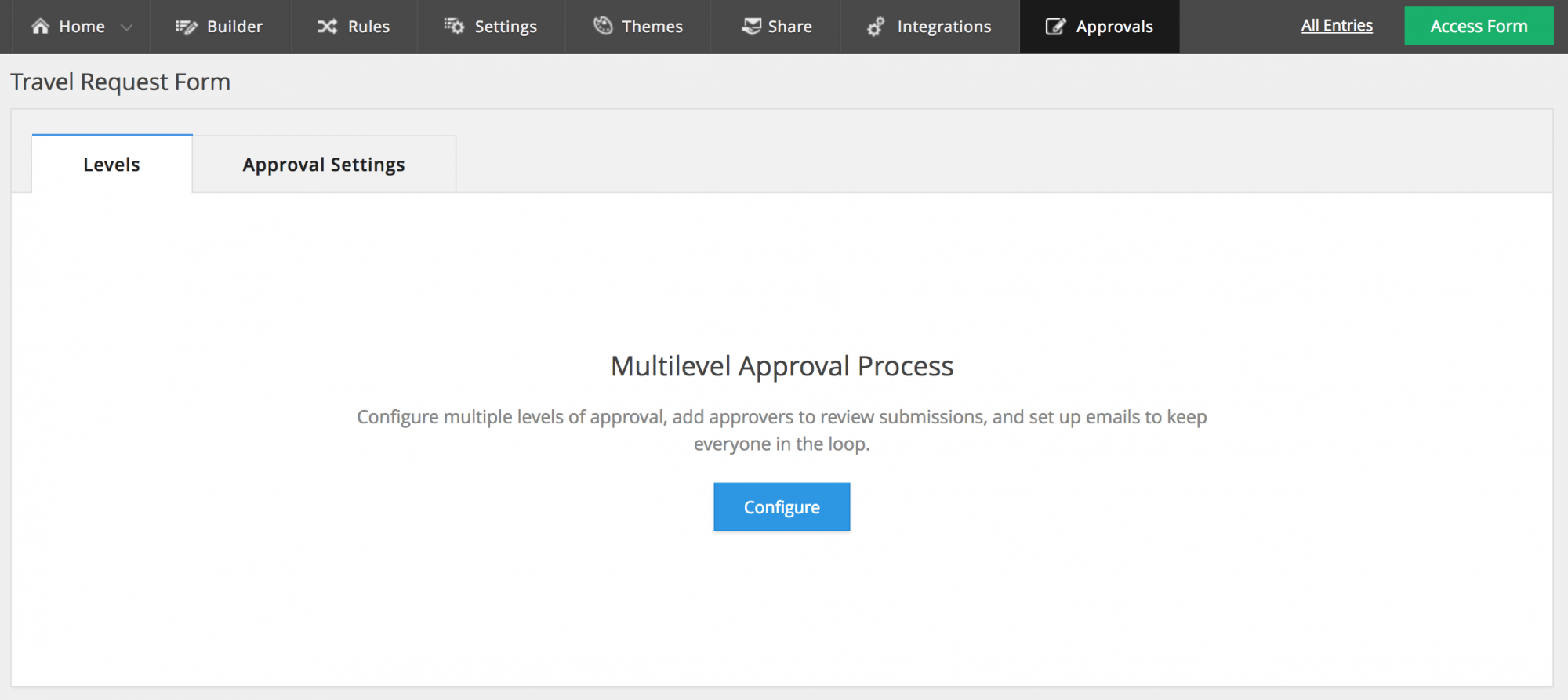 Form Approvals   Zoho Forms - User guide