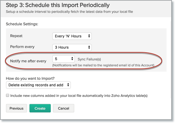 Importing from Large CSV files