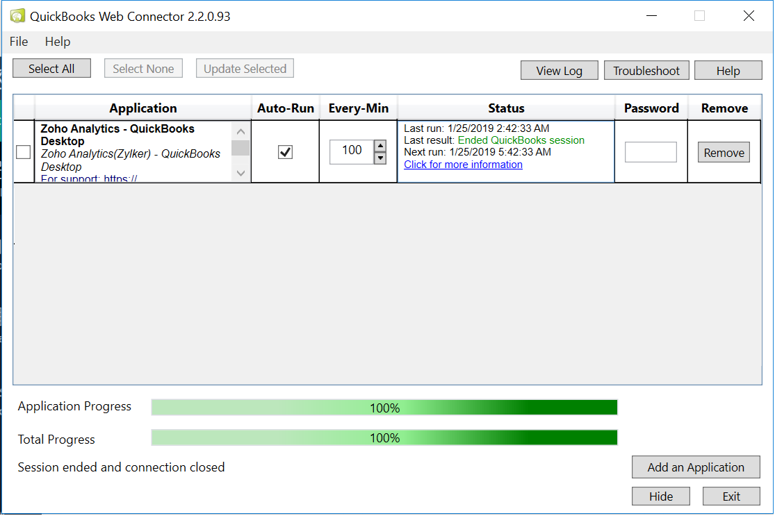 QuickBooks Desktop Analytics l Zoho Analytics Help