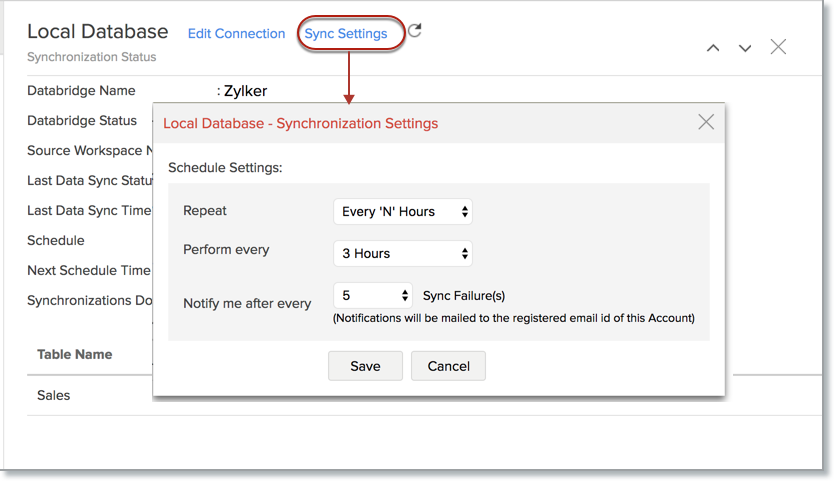 Import Data from SQL Server l Zoho Analytics Help
