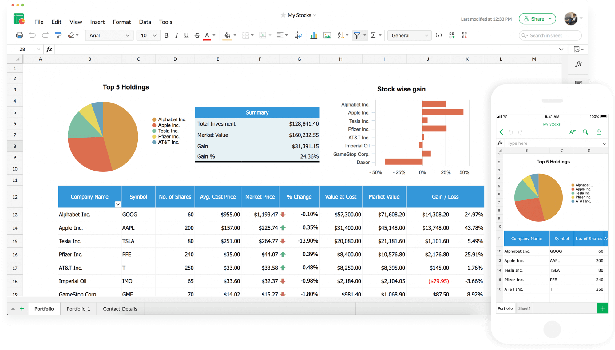 Online Spreadsheet Maker | Create Spreadsheets for free