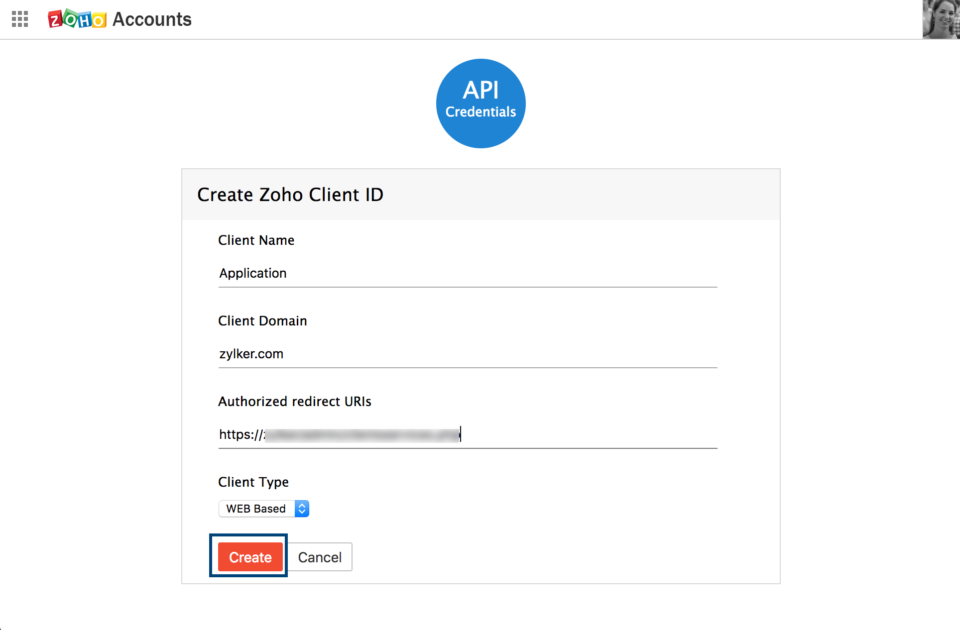 OAuth 2 0 Token - Zoho Mail API