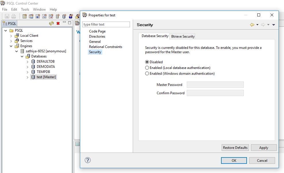 ManageEngine Analytics Plus - Prerequisites to ensure database