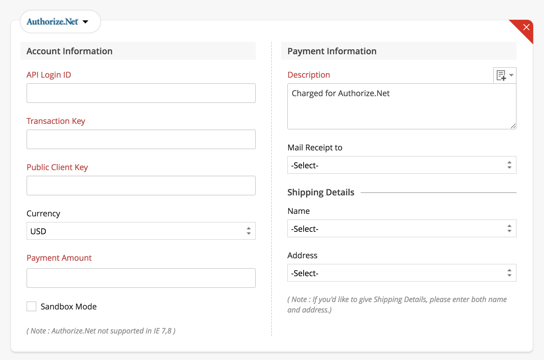Collect payments using forms| Zoho Forms - User Guide