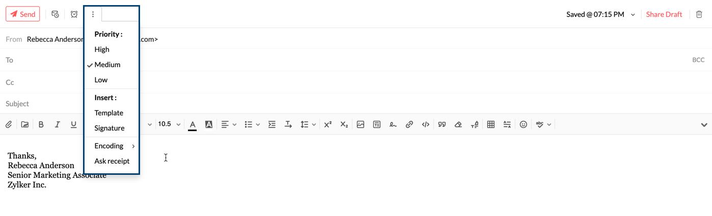 Sending Mails