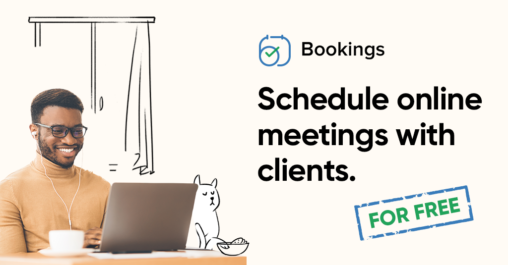 Zoho Bookings and Zoho Meeting integration is free for all