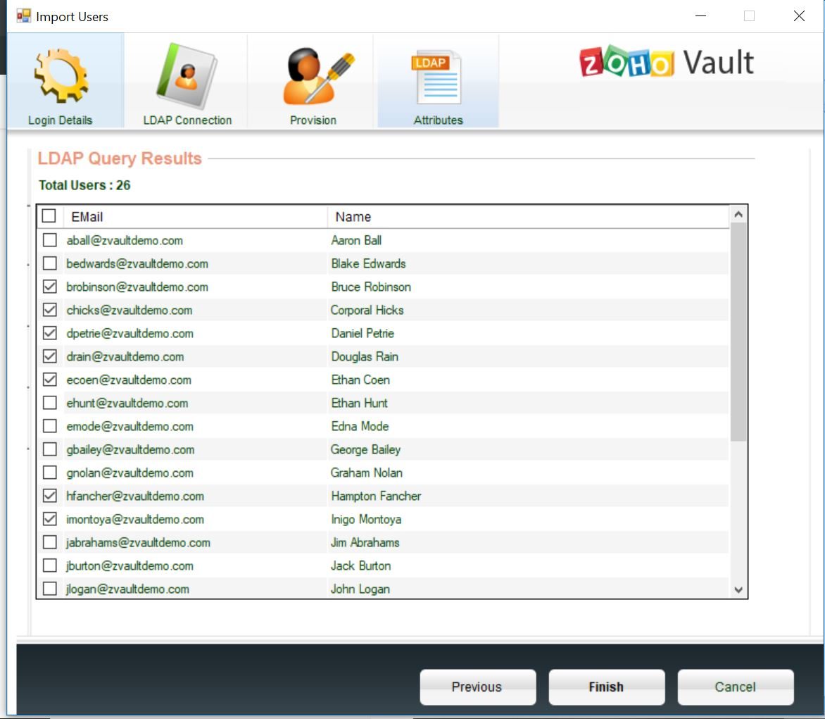 Active Directory Integration with Zoho Vault