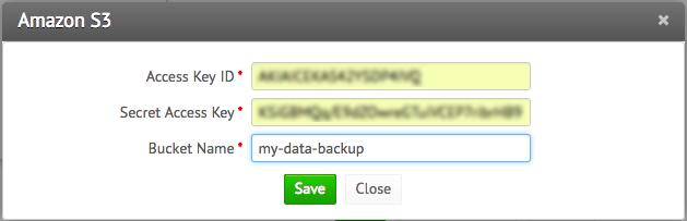 Zoho Vault - Cloud data backup