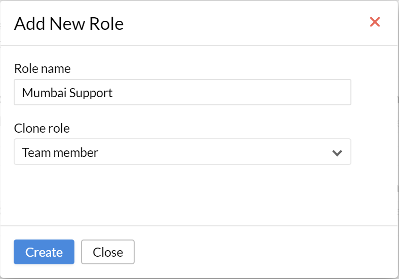 User Roles   Zoho People