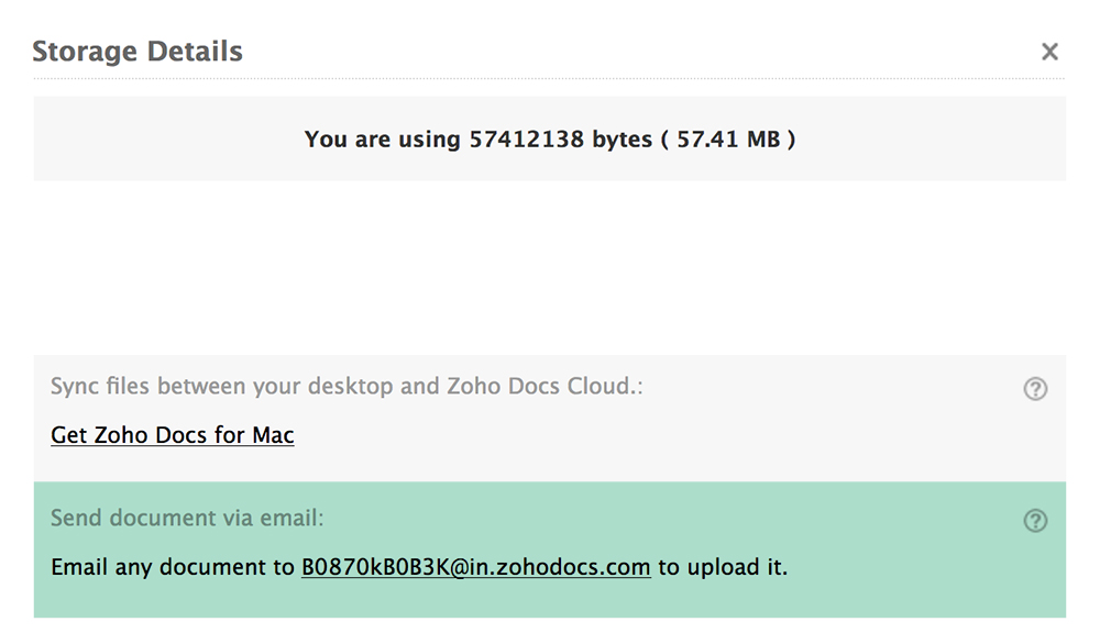 Cloud File Storage, Store Files & Documents Online | Zoho Docs