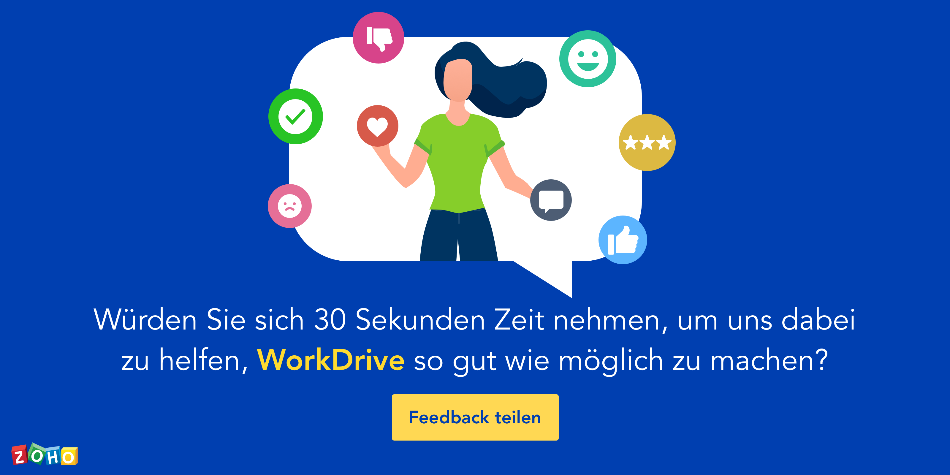 Workdrive Feedback