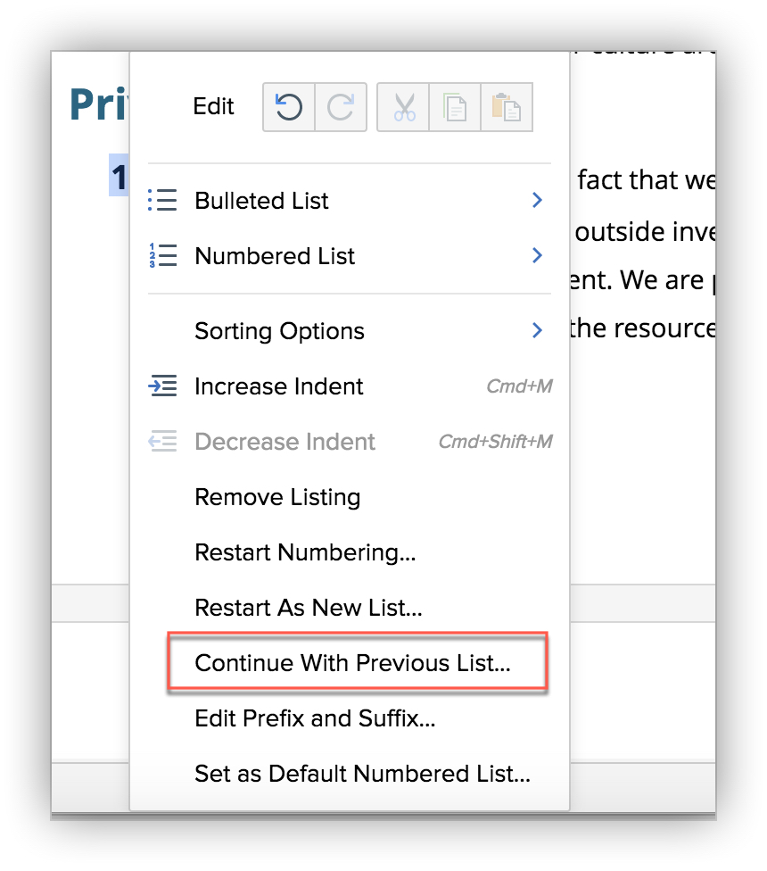Create pre-formatted bulleted, image, or numbered lists in Writer