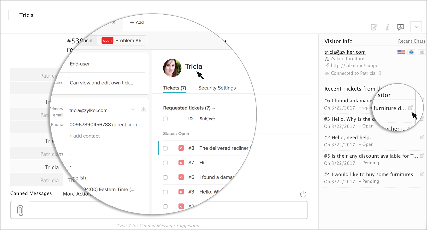 Integrate Live Chat with Zendesk - Zoho SalesIQ