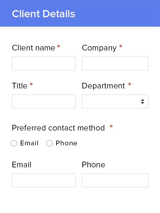 online lead generation form lead capture templates \u2013 zoho forms
