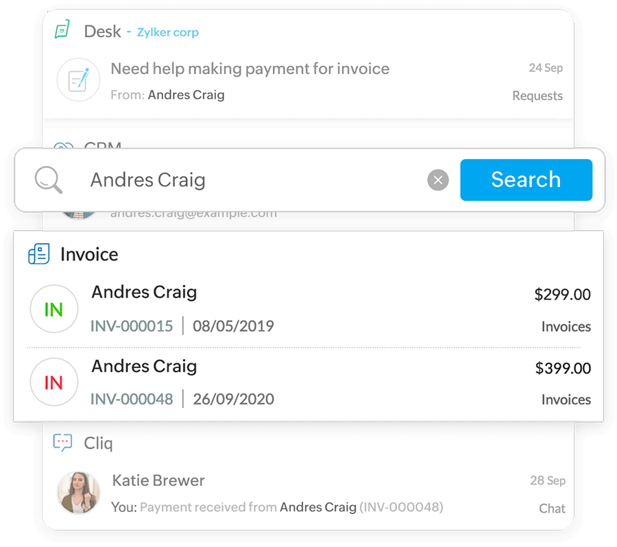 Invoicing in one place