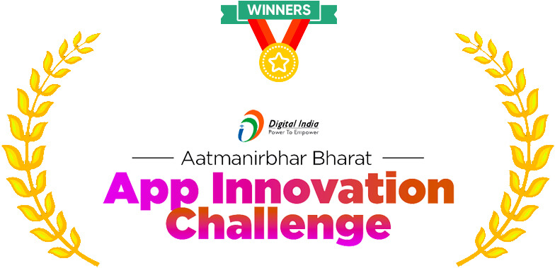 Winners of Government of India's AatmaNirbhar Bharat App Challenge
